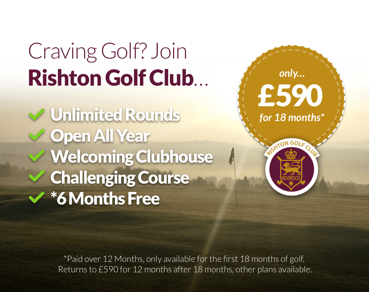 Craving Golf? Join Rishton Golf Club
