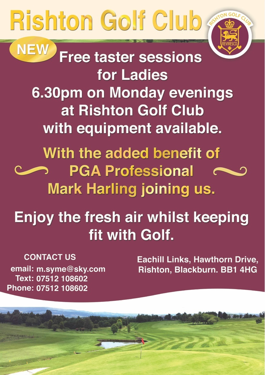 Free ladies taster sessions